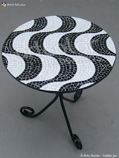 Workshop Artcolor mosaics: mosaic table