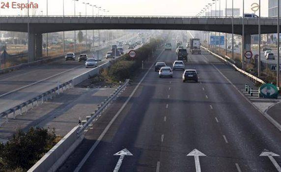 Tres personas atendidas en una colisión entre tres coches a la altura de Riba-roja