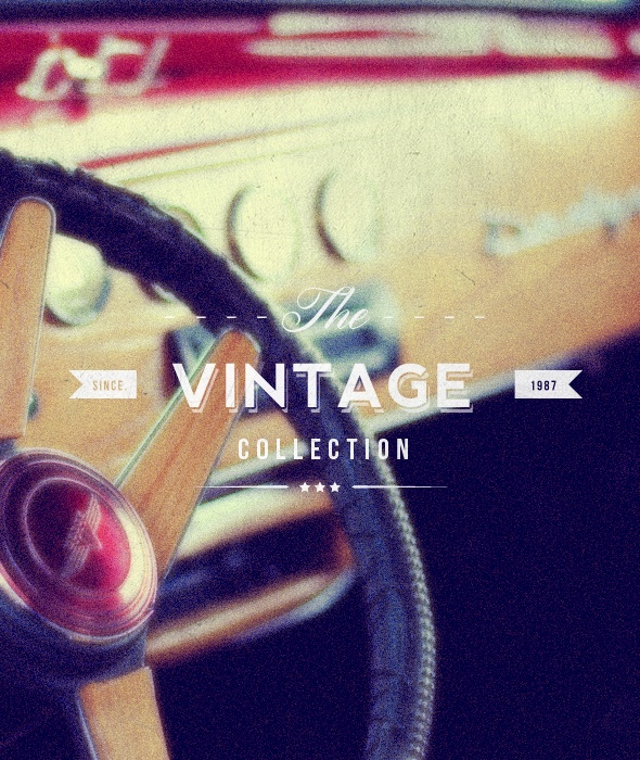 """Vintage Collection"" Buy from -http://graphicriver.net/item/premium-quality-8-vintage-labels-logo-badges/4622963?WT.ac=portfolio_1=portfolio_author=SAOStudio"