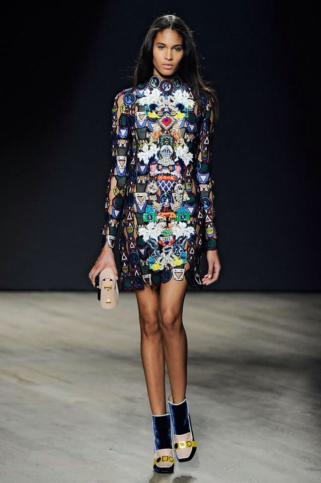Shop the Runway - Autumn Winter 2014 - now from the luxury ready to wear  and accessories womenswear designer Mary Katrantzou's new Runway - Autumn  Winter ...