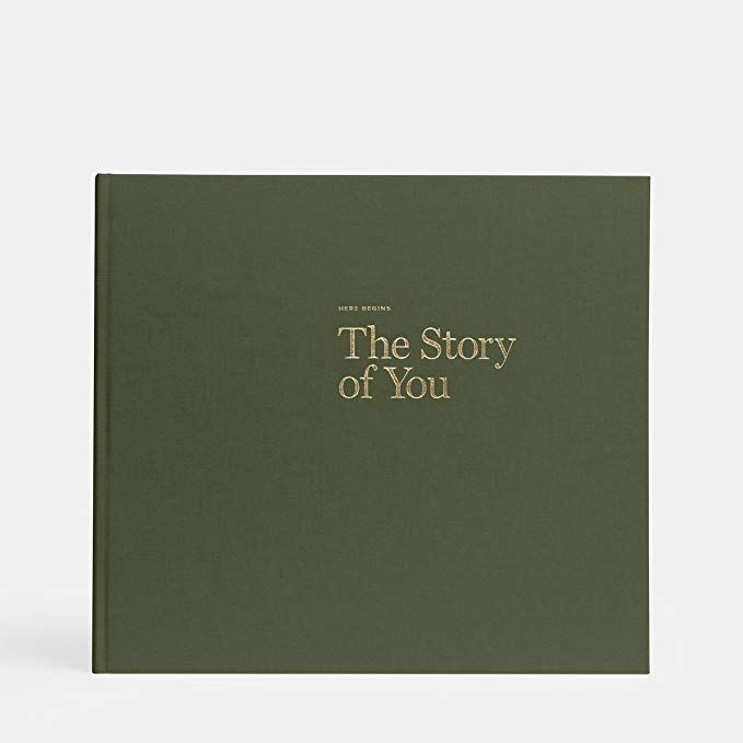Artifact Uprising Baby Book Photo Album Olive Green Baby/'s First Year Memory Book
