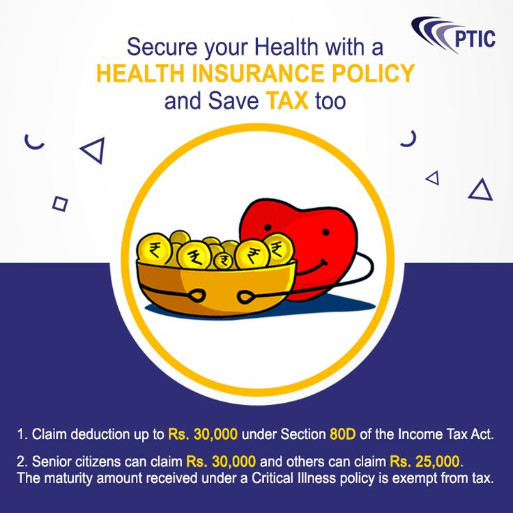 Secure your health insurance policy and save tax too