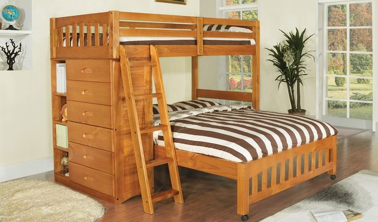 Twin Über Full Loft Etagenbett Für Die Kinder