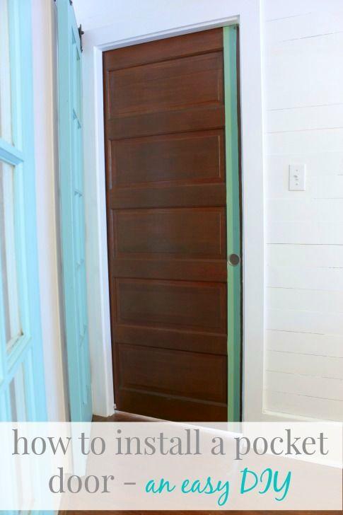 1000 ideas about pocket door installation on pinterest for Pocket door ideas