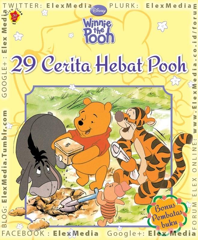 Berisi 29 cerita lucu dan penuh ilustrasi Pooh dan kawan