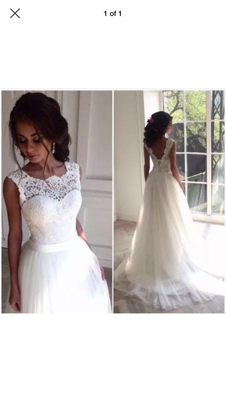 24 best Brautkleider images on Pinterest   Wedding frocks, Wedding ...