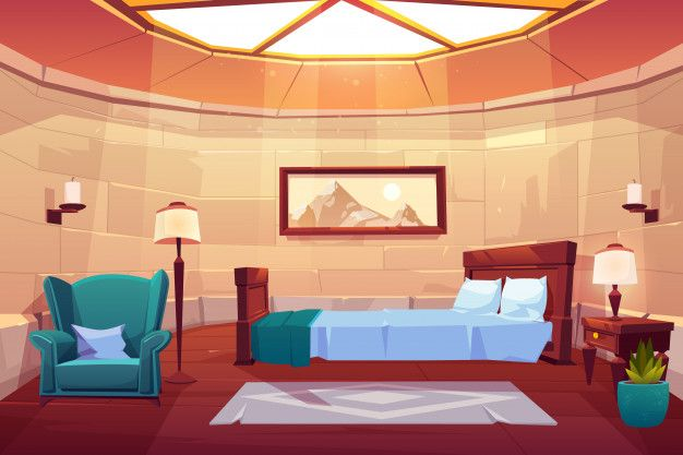 Download Bedroom In Castle Or Palace For Free Anime Backgrounds Wallpapers Cartoon Background Anime Background Anime living room background morning