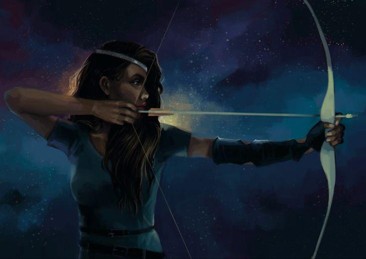 Zoe Nightshade [The Hunter in the Stars]