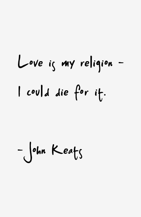 John Keats Quotes                                                                                                                                                                                 More