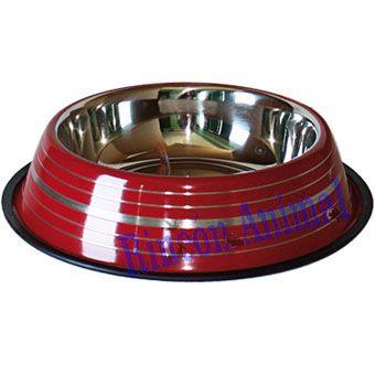 Complementos para animales - Comedero Grabado Rojo 17cm - Complementos para animales