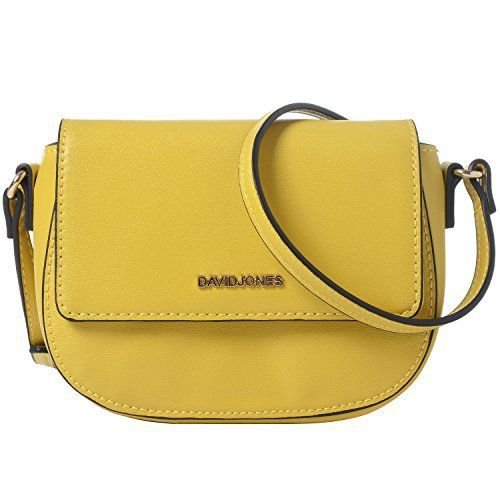 New Trending Cross Body Bags: DAVIDJONES Synthetic Leather Mini Crossbody Bag Saddle Bag. DAVIDJONES Synthetic Leather Mini Crossbody Bag Saddle Bag  Special Offer: $19.99  311 Reviews DAVIDJONES a fashion accessories brand from Paris since 1987.We are committed to provide our customer trendy and stylish products at reasonable price.This trendy and stylish sling bag offers...
