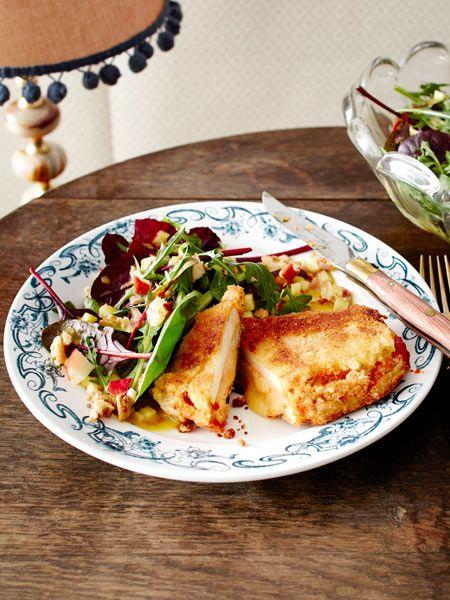 Kohlrabi at its best! Das mit Käse gefüllte Kohlrabischnitzel begeistert nicht nur Low Carb-Fans