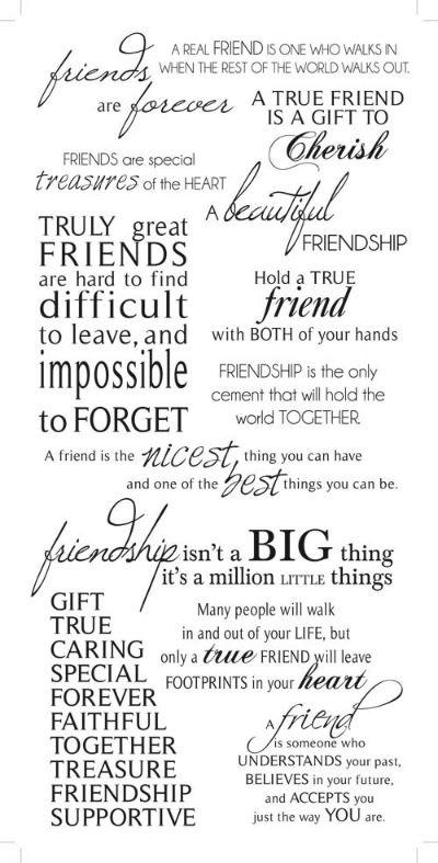 Friendship Rub on