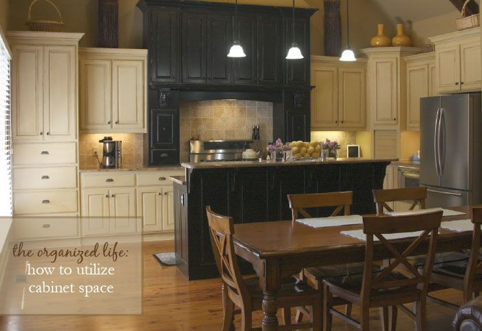 How To Utilize Cabinet Space