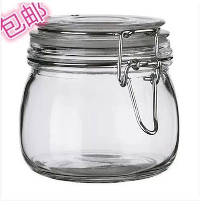 Large jars for giftgiving, snaptop lids Ikea food