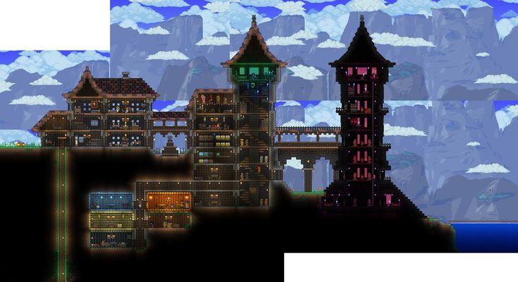 terraria house progress 4 by wolfsoren @ deviantart