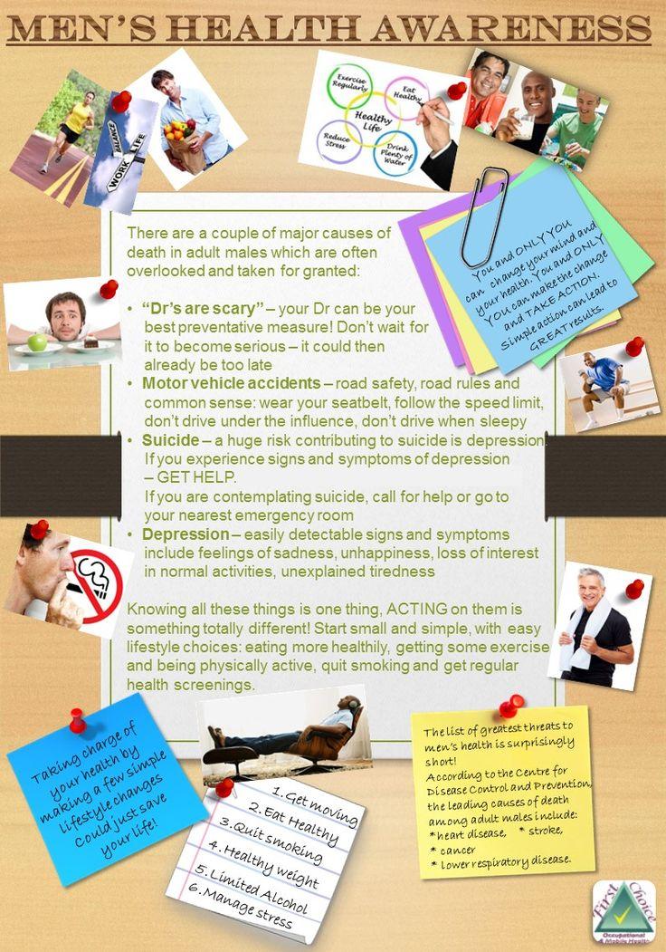 Men's Health Awareness Tips