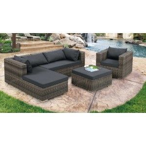 LA Furniture Modern Outdoor Sofa Set - Patio $1699 (store just opened in Woodland Hills)