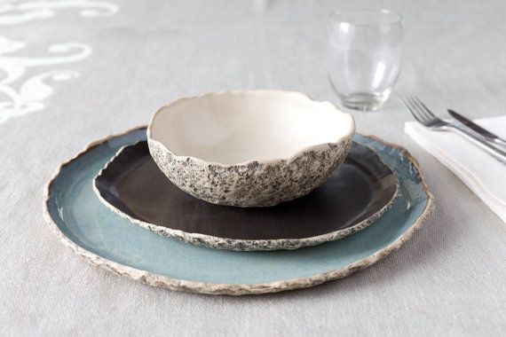 ... dinner sets on Pinterest Grey dinner set inspiration, Grey dinner