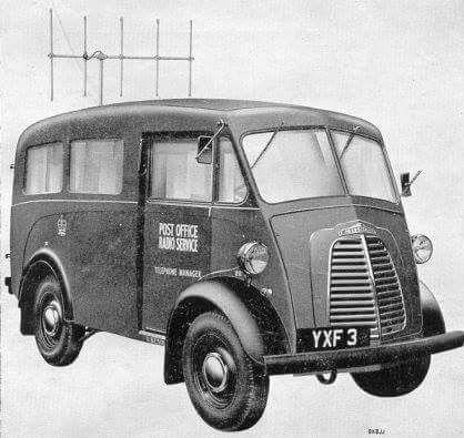 Morris J TV Detector Van