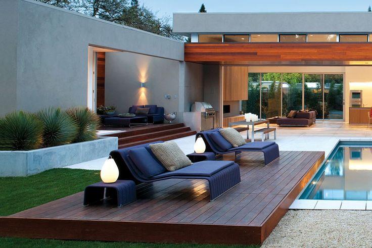 Mejores 8 im genes de piscina con jardineras y cascadas for Fotos de piscinas modernas en puerto rico
