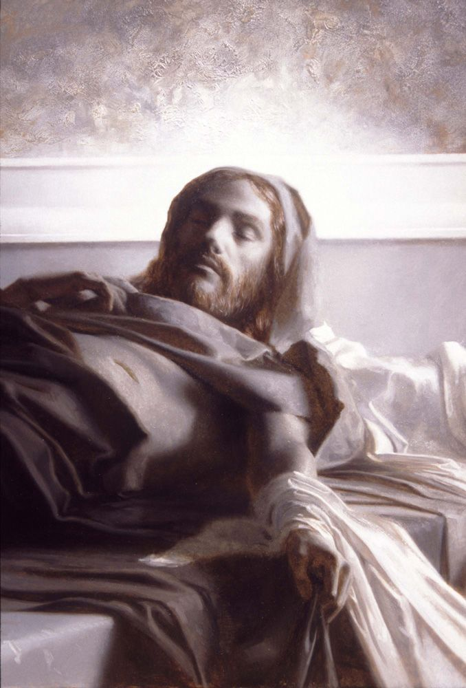 Allegory of the Resurrection of Jesus Christ (Grisaille Study) by Patrick Devonas