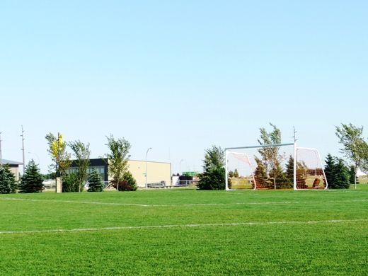 The Lethbridge Sports Park is the City's premier rugby and soccer sports field. This park is noted by locals and visitors alike for its design, playability, and function for daily and tournament play. The covered Rotary Picnic Shelter and playground is fenced and only open when booked and includes washrooms, kitchen, fire pit, tables and a concession area. #chooselethbridge