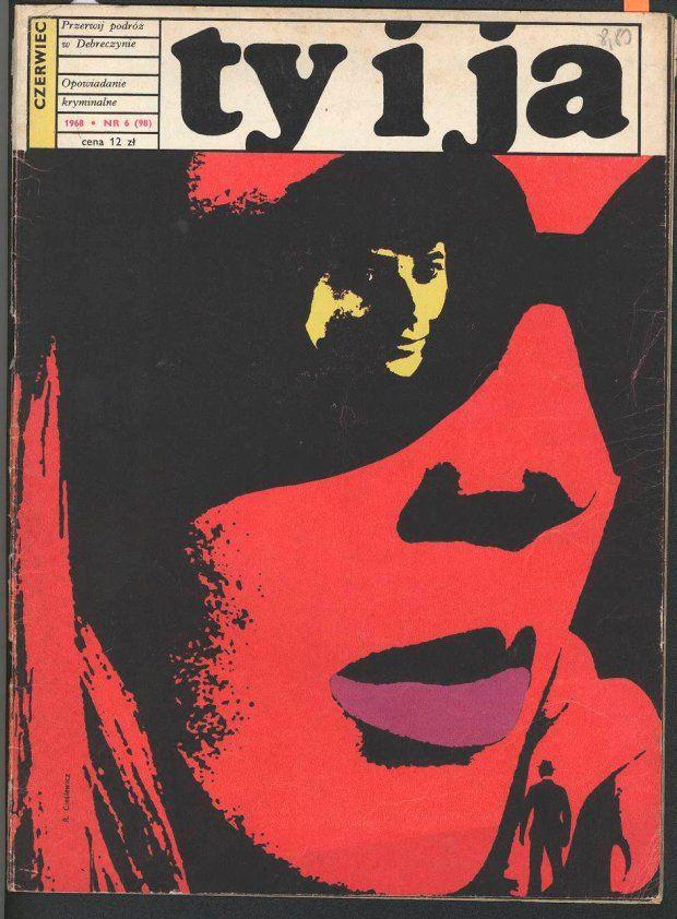 Cover photo Roman Cieslewicz c. 1968 Polish magazine