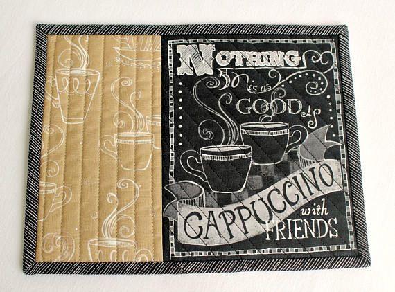 Citar a alfombra acolchada de la taza café Cappuccino Snack