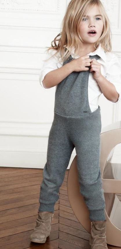grey jumpsuit chloe: I could probably recreate this pretty easily