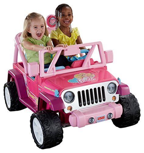 Barbie Power Wheels for Girls are more fun with a freind.