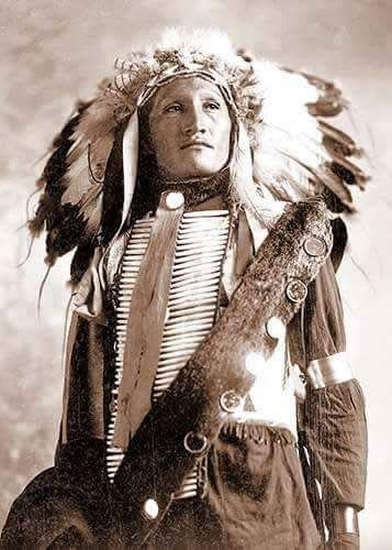Plenty Holes, Sioux Warrior