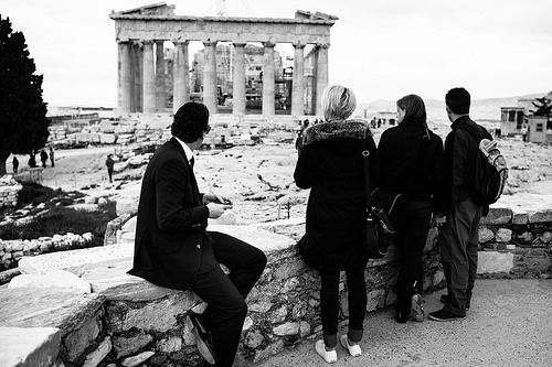 watching the akropolis