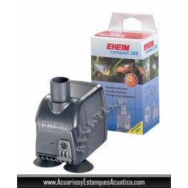 ** 16.90€ ** BOMBA DE AGUA EHEIM COMPACT 300 SUMERGIBLE PARA ACUARIOS DE AGUA DULCE  http://acuariosyestanquesacuatica.com/equipamiento-acuario-dulce/225-bomba-de-agua-eheim-compact-sumergible-para-acuarios-de-agua-dulce.html