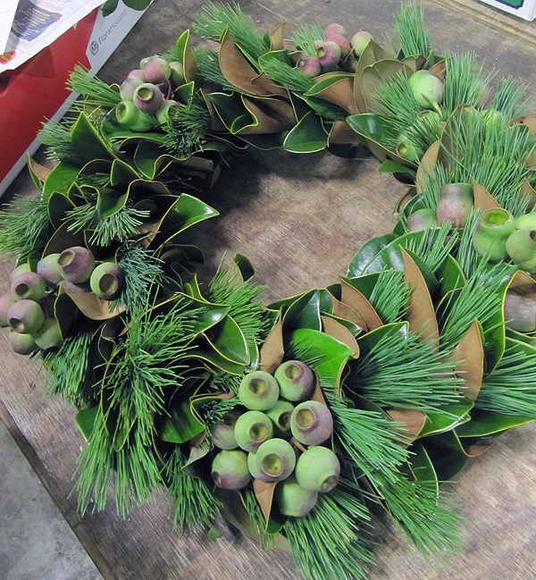 Beautiful wreath from SF Brannan Street Wholesale