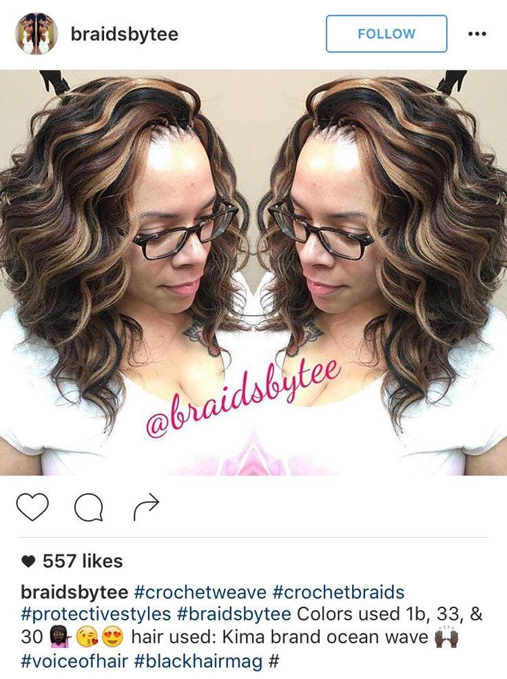 Ocean Wave Crochet Hair Styles : ... Crochet Braids sur Pinterest Tresses Au Crochet, Tresses et