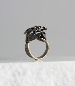 Finnish 1970s bronze ring