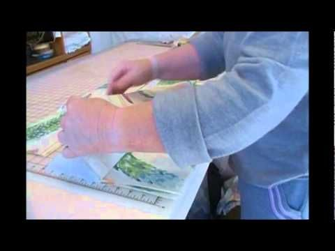 Quilt As You Go: Strip Quilting Tutorial