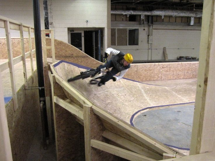 how to build a bmx track in your backyard