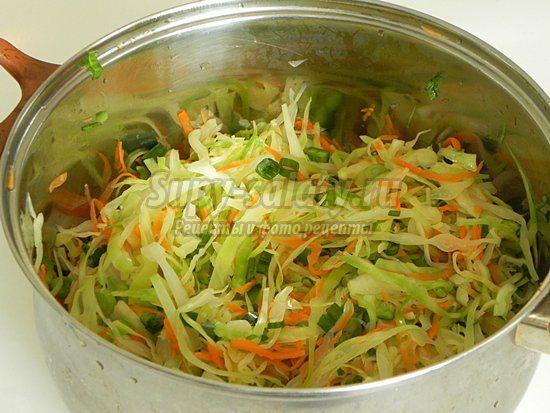 Салаты из капусты с уксусом - вкусно, просто, быстро