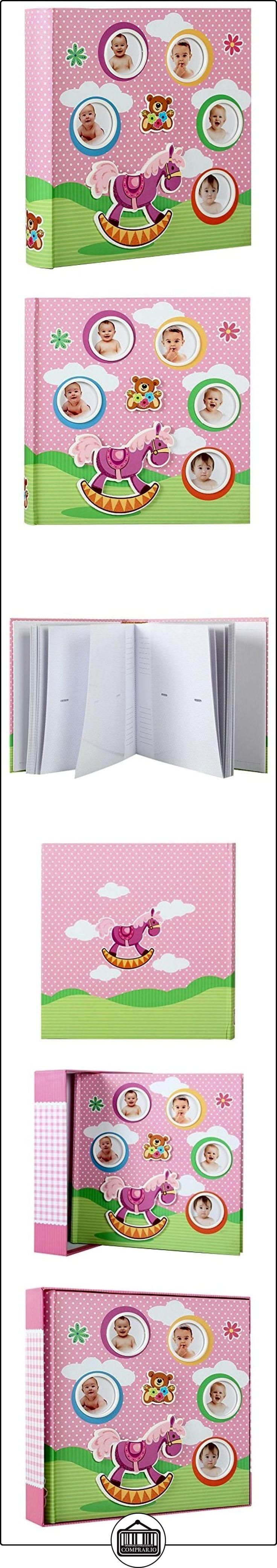 Coffret álbum de fotos de nacimiento caballo rosa para 200fotos 10x 15cm  ✿ Regalos para recién nacidos - Bebes ✿ ▬► Ver oferta: http://comprar.io/goto/B01AAUKHCU