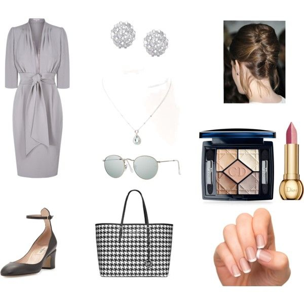 A look for an elderly chic lady