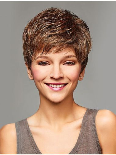 cropped curly short style wigs