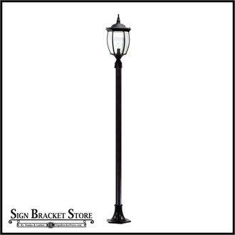 Brighten street and neighborhood lighting design with the Victorian Outdoor Lamp Post.#lamps #streets #park #esplanade