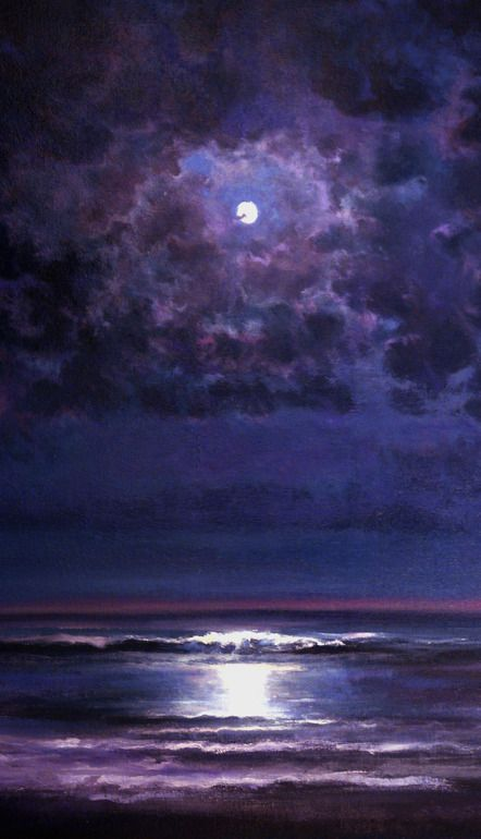 "Saatchi Online Artist: Keith P Burnett; Oil, Painting ""Time and Tide"""