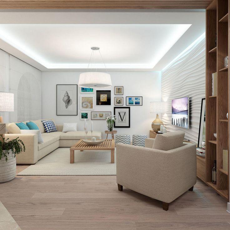Inspirace obývací pokoj - INTERIÉR SEA