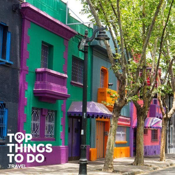 Barrio Bellavista - Santiago - Uno de los barrios bohemios y culturales de la capital de Chile, Barrio Bellavista es sin duda uno de los imperdibles de la ciudad.