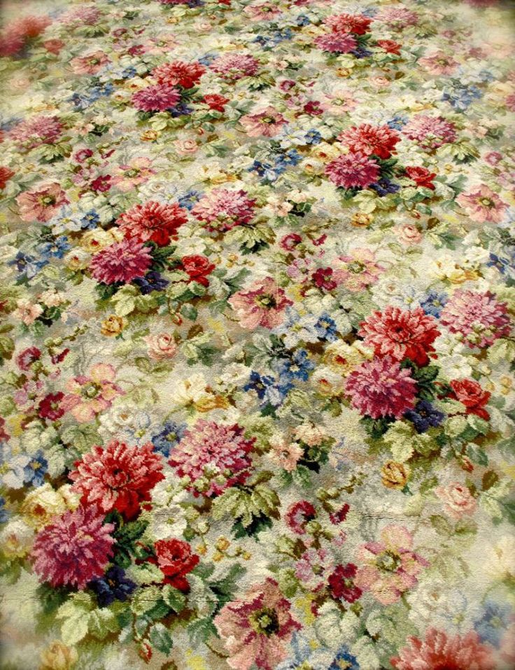 17 best images about materials on pinterest rusted metal for Floral pattern wall to wall carpet