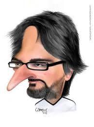 Caricaturas de Famosos Portugueses ~~Nuno Markl: