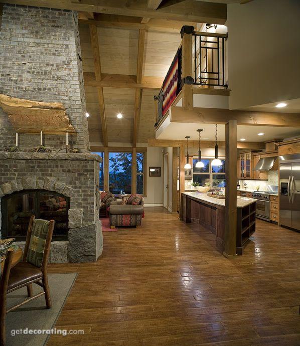 Open Concept Modern Kitchen: Best 25+ Standing Fireplace Ideas On Pinterest
